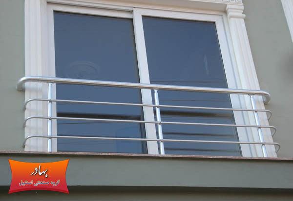نرده و حفاظ استیل پنجره