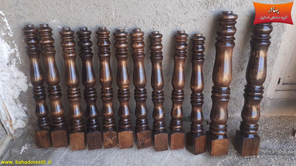 نرده چوبی در کرج